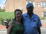 With Sankofa Co-op Neighbor at the Belmont Street Block Party